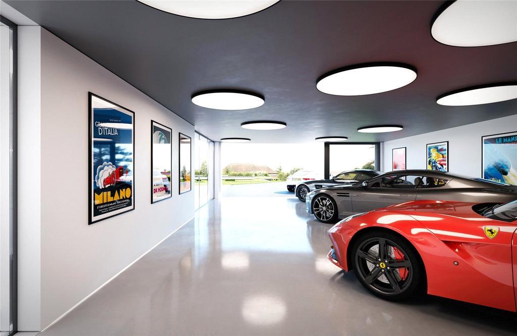 Garaging CGI