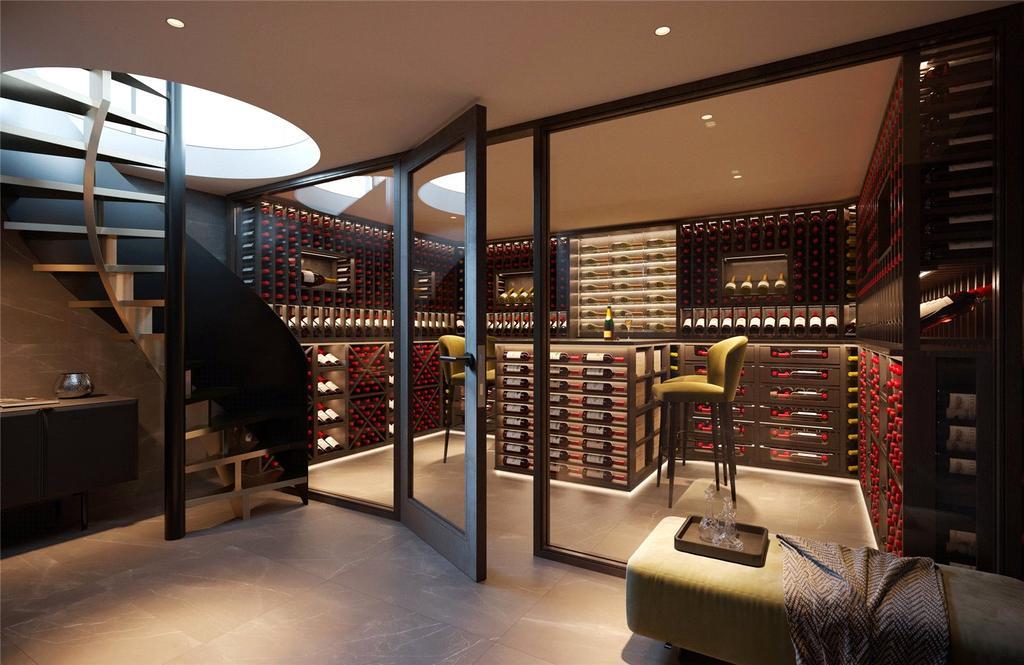 Wine Cellar CGI