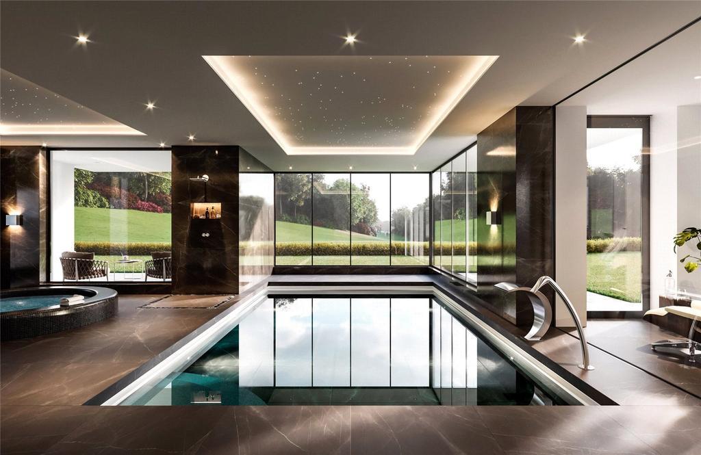 Pool/Spa Complex Cgi