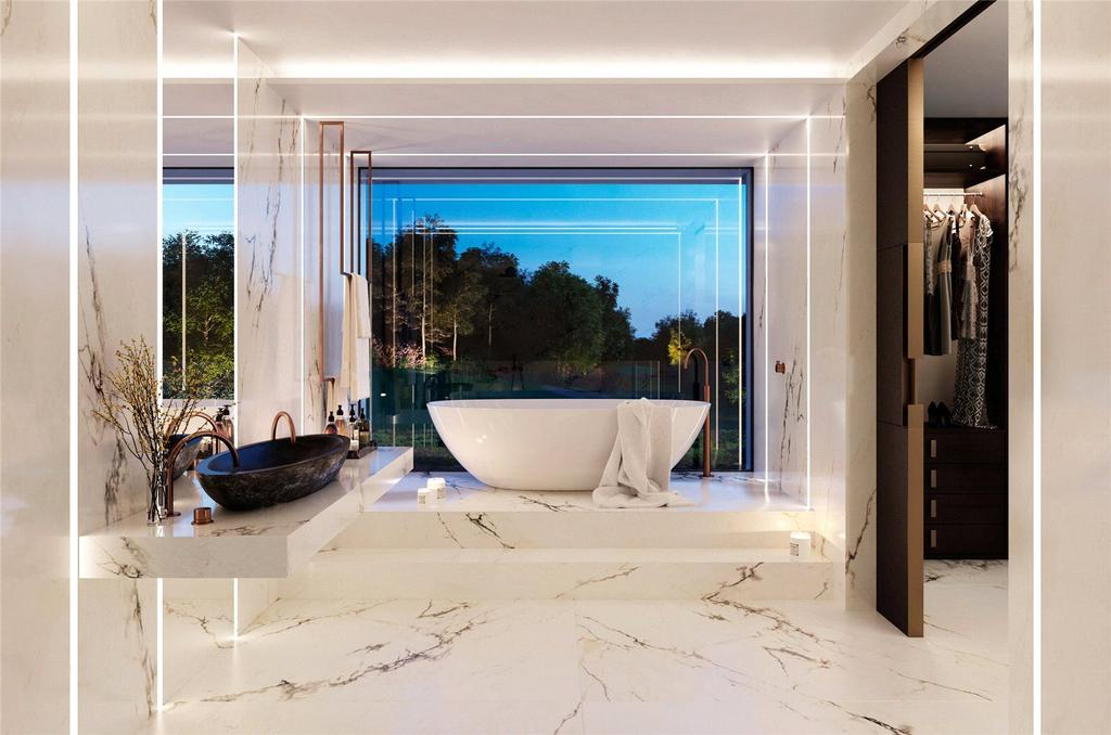 Master Bathroom CGI