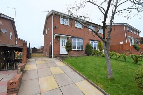 3 bedroom semi-detached house for sale - Amison Street, Meir Hay