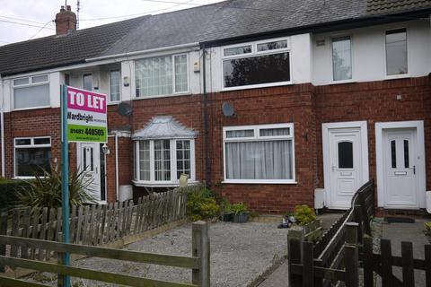 2 bedroom terraced house to rent - 130 Wold Road, Hull HU5