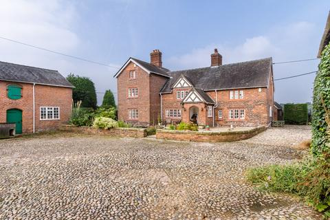 4 bedroom farm house for sale - New Road , Crowley , Near Northwich