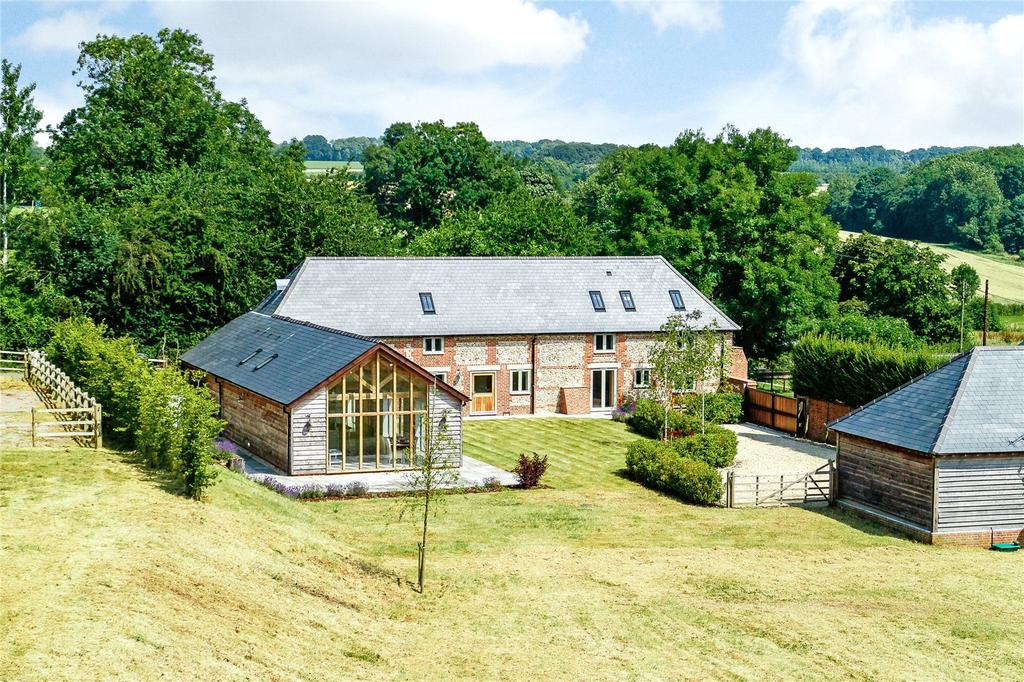 4 Bedrooms House for sale in Manor Farm Barn, Tangley, Andover, Hampshire
