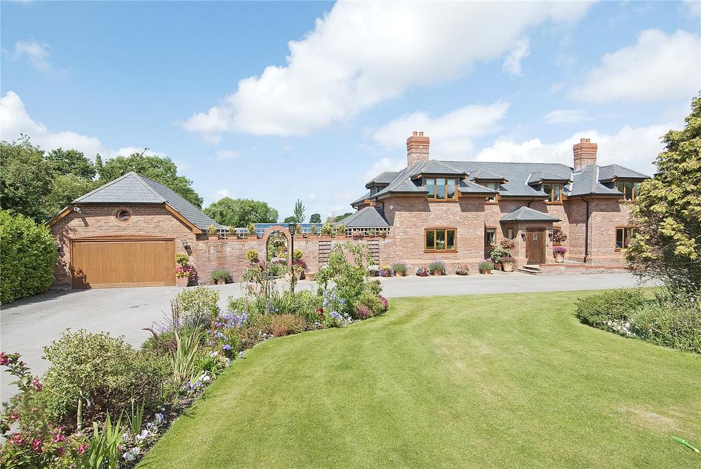 6 Bedrooms Detached House for sale in Duddon Common, Duddon, Tarporley, Cheshire