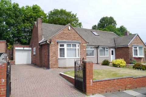 2 bedroom semi-detached bungalow for sale - DECEPTIVELY SPACIOUS SEMI DETACHED BUNGALOW Woodlands, Throckley, Newcastle upon Tyne