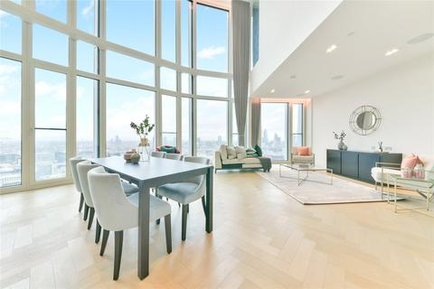 3 bedroom penthouse to rent - Upper Ground, London, SE1