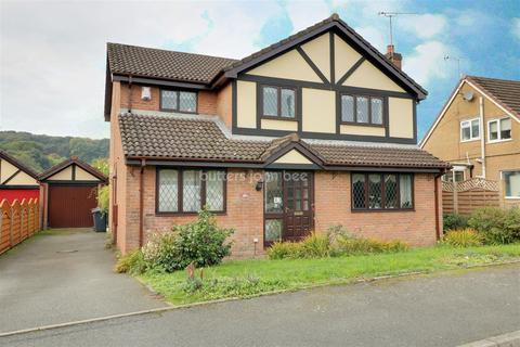 4 bedroom detached house for sale - Laburnum Close, kidsgrove,Stoke-on-trent