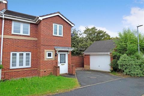 3 bedroom semi-detached house to rent - Rosemary Ednam Close, Hartshill