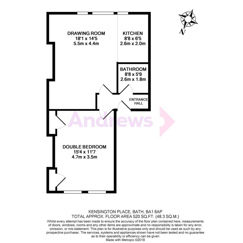 Floorplan: Kensington Place