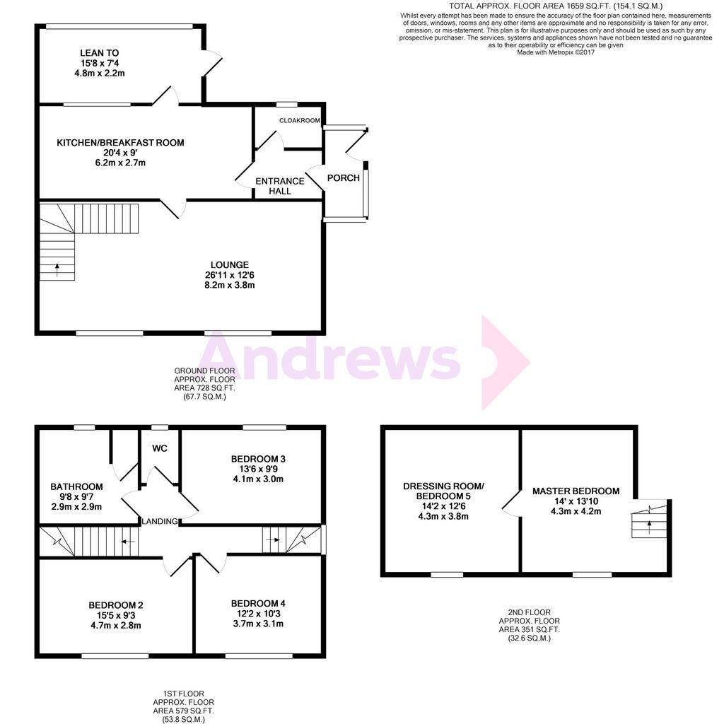 Floorplan: Evesham Road