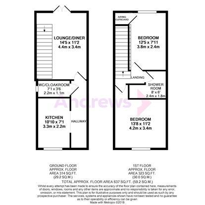 Floorplan: 13 Ashtree Mews