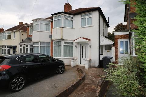 3 bedroom semi-detached house to rent - Milburn Road, Birmingham