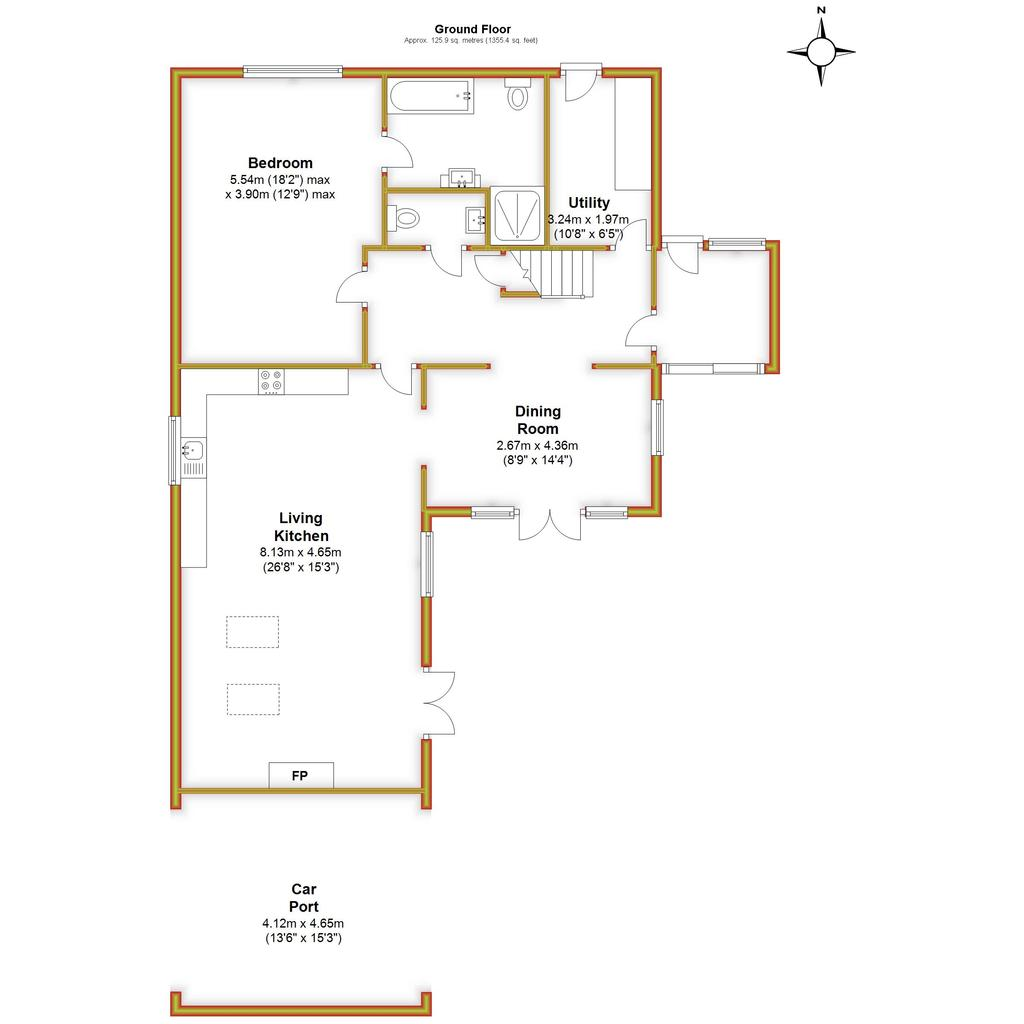 Floorplan 1 of 3: Damson House,...
