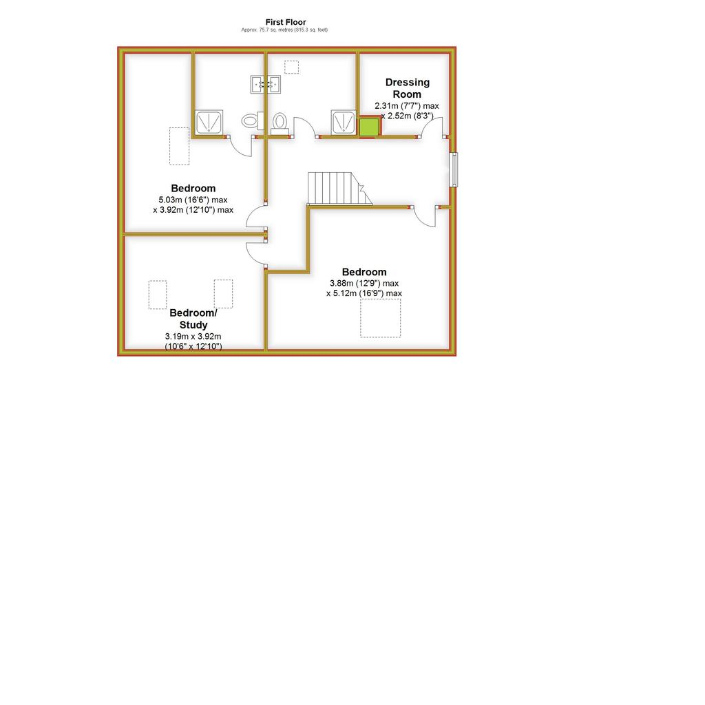 Floorplan 2 of 3: Damson House, First
