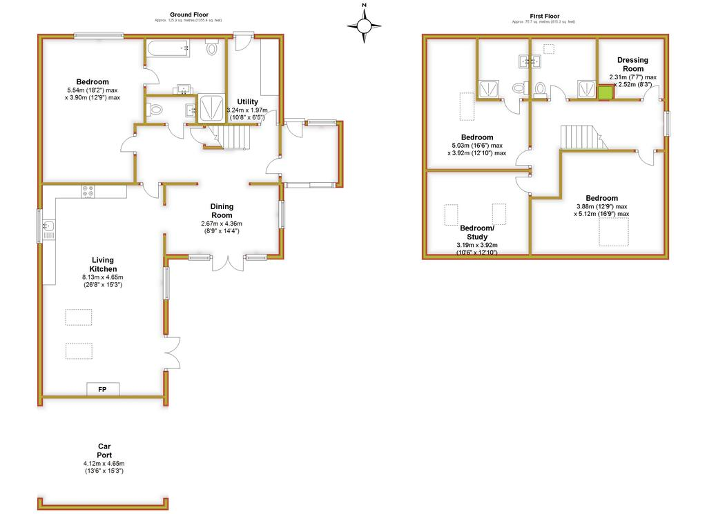 Floorplan 3 of 3: Damson House, All