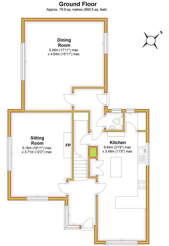 Floorplan 1 of 3: 1 Barton View,...
