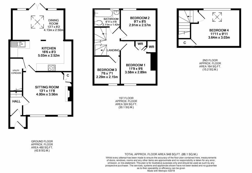 Floorplan 1 of 2: 2 d
