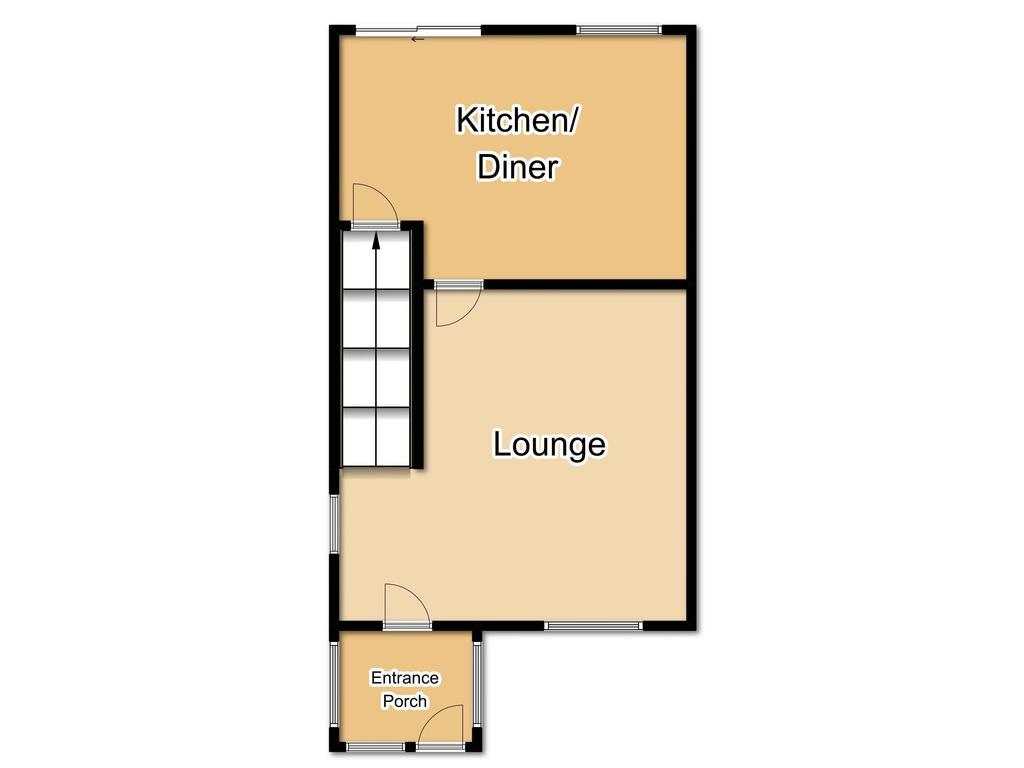 Floorplan 1 of 2: Ground Floorplan