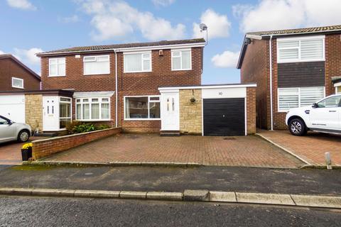 3 bedroom semi-detached house for sale - Kirkbride Place, Cramlington, Northumberland, NE23 2XJ