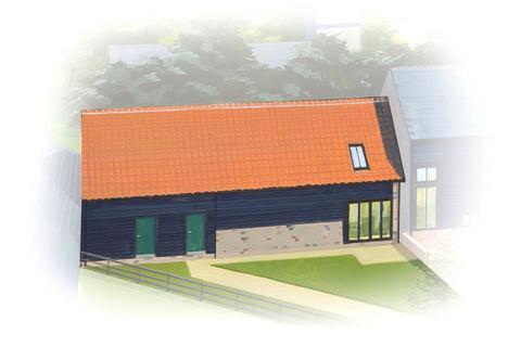3 bedroom link detached house for sale - Dotterell Hall Barns, Balsham, Cambridge, CB21