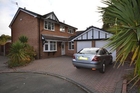 4 bedroom detached house for sale - Shackleton Close, Old Hall, Warrington