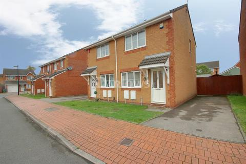 2 bedroom semi-detached house for sale - Clos Avro, Pengam Green, Cardiff, CF24 2HN