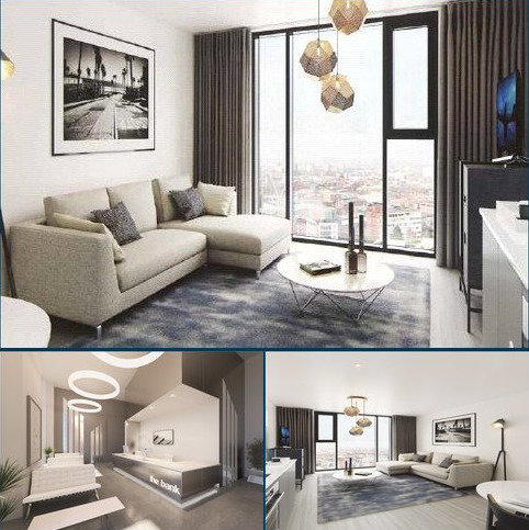 1 bedroom flat for sale - Sheepcote Street, Birmingham City Centre, Birmingham, West Midlands, B15