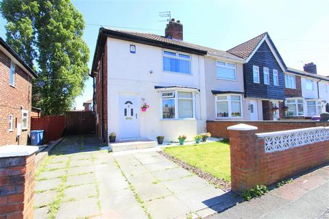 2 bedroom end of terrace house for sale - Broadoak Road, Dovecot, Liverpool