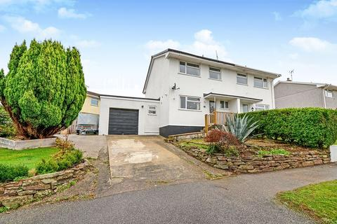 3 bedroom semi-detached house for sale - Roslyn Close, St. Austell