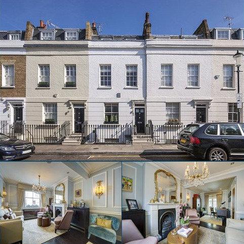 3 bedroom terraced house for sale - Hasker Street, Chelsea, London, SW3