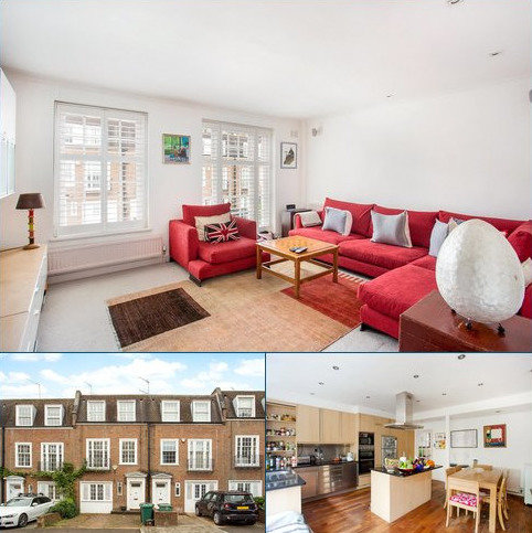 5 bedroom terraced house for sale - Marston Close, South Hampstead, London, NW6