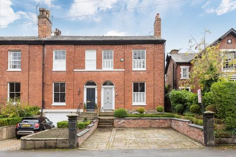 5 bedroom end of terrace house for sale - Stamford Road, Bowdon