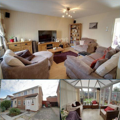 3 bedroom semi-detached house for sale - Tom Paine Close, Thorpe Astley, Leicester