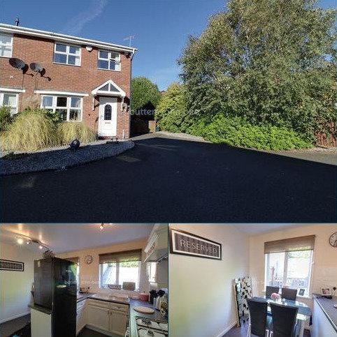 2 bedroom semi-detached house for sale - Allthrop Grove, Longton, ST3 1UF
