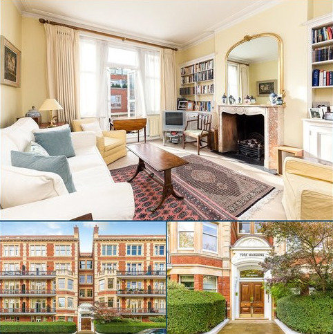 2 bedroom flat for sale - York Mansions, Prince of Wales Drive, Battersea Park, London, SW11