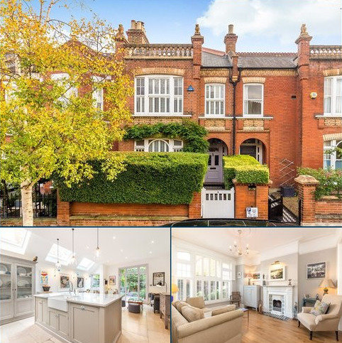 4 bedroom terraced house for sale - Cleveland Road, London, SW13