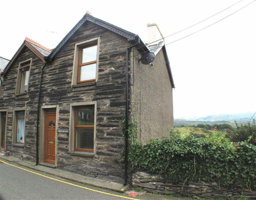 2 Bedrooms End Of Terrace House for sale in Fron Heulog, Penrhyndeudraeth, Gwynedd