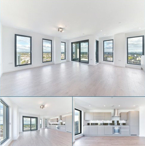 3 bedroom flat to rent - Legacy Tower, 88 Great Eastern Road, London, E15