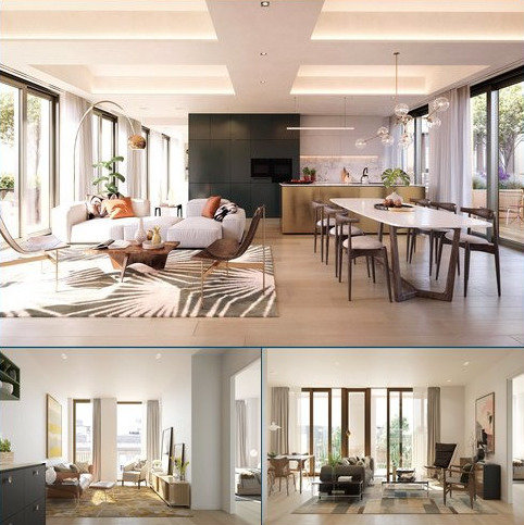 2 bedroom flat for sale - Barts Square, 56 West Smithfield, Smithfield Market, City Of London, EC1A