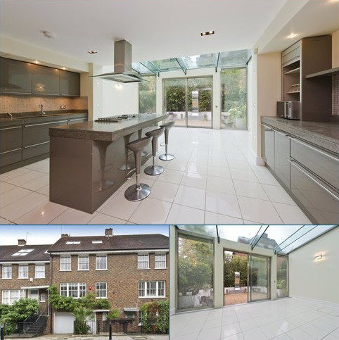 4 bedroom terraced house to rent - Bark Place, Notting Hill, London, W2