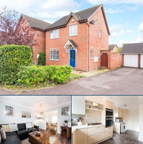3 bedroom detached house for sale - Thor Drive, Bedford, Bedfordshire