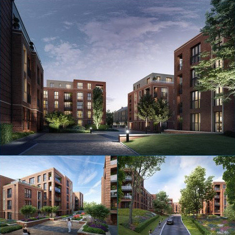 1 bedroom flat for sale - 103 Knights Quarter, Romsey Road, Winchester, Hampshire, SO22