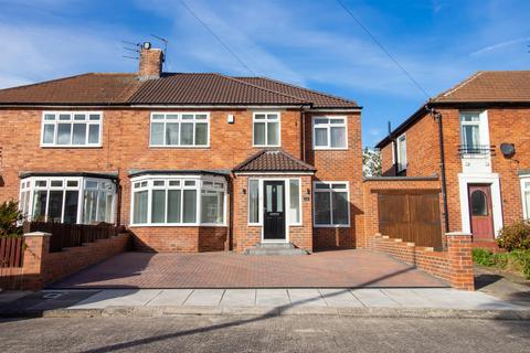 4 bedroom semi-detached house for sale - Princes Avenue, Gosforth, Newcastle Upon Tyne