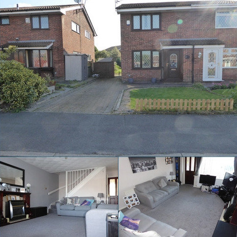 3 bedroom semi-detached house for sale - Heron Drive, Audenshaw, M34