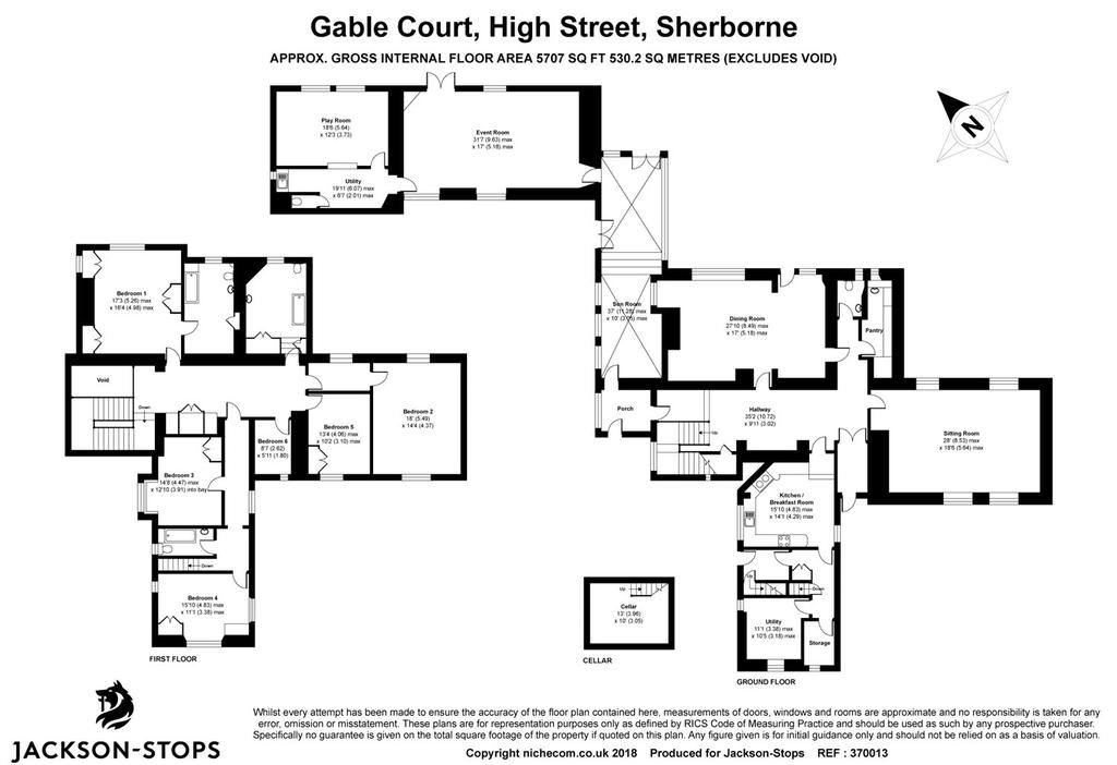 Floorplan 1 of 2: House
