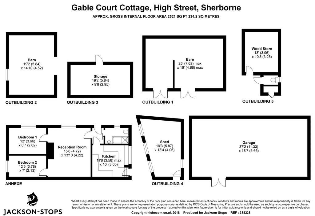 Floorplan 2 of 2: Cottage