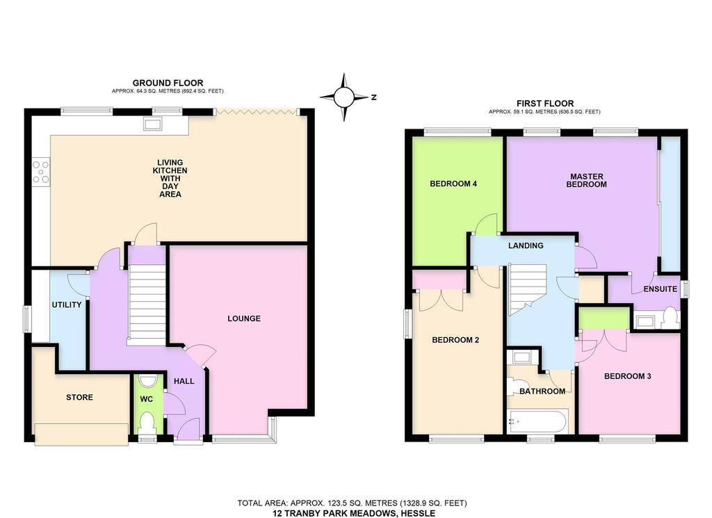 Floorplan: 12 Tranby Park Meadows, Hessle.JPG