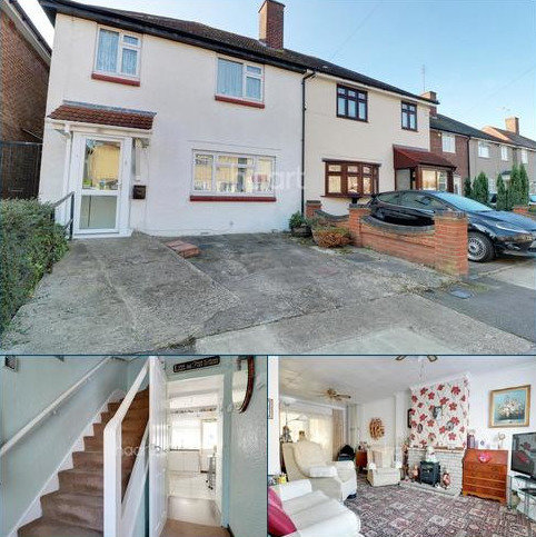 3 bedroom semi-detached house for sale - Thorntons Farm Avenue, Rush Green Road, Romford