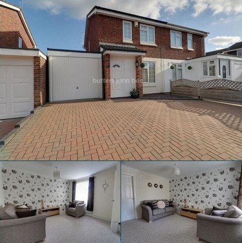 2 bedroom semi-detached house for sale - Birchfields Close, Stone